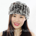 CX-E-37N Wholesale Hair Bands Rex Rabbit Fur Fashion Ladies Headband