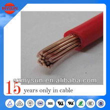 Super soft and high temperature flexible 14 gauge silicone wire 12 gauge power wire cable