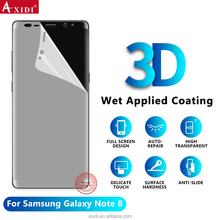 Note8 3D TPU Screen Protector, Free Sample Hydrogel Film For Note8