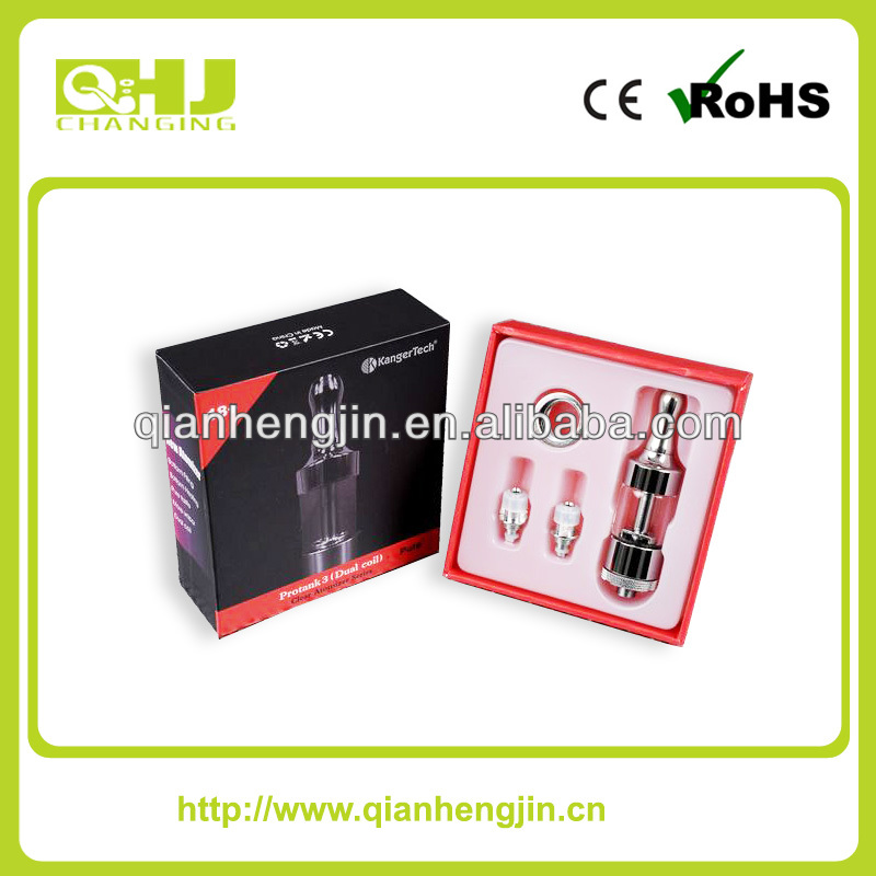100% Original Kanger protank 3 clearomizer dual coil cartomizer available in stock