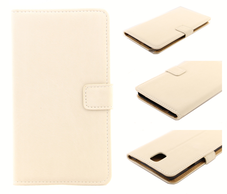 Fashion Flip Squirrel Grain PU Leather+Plastic Mobile Phone Case Cover For Samsung Galaxy Note3