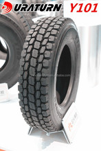 China Duraturn brand 11r22.5 radial tyre high quality