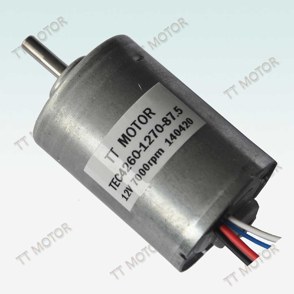 34W TEC4260 electric brushless dc motor electric fans application