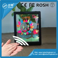 best acrylic pannel color child magnetic drawing board