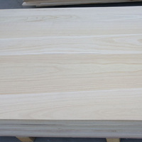 ab grade paulownia sauna wood board 25mm coffin board with great quality