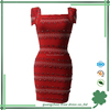 Cheap red bandage dress for women wholesale beading bandage dress
