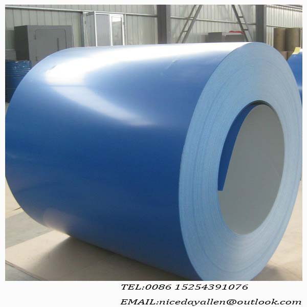 All RAL color avialable ppgi steel coils from shandong for Drums making