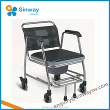 High Quality Disabled stool wheelchairs Commode chair for elderly people
