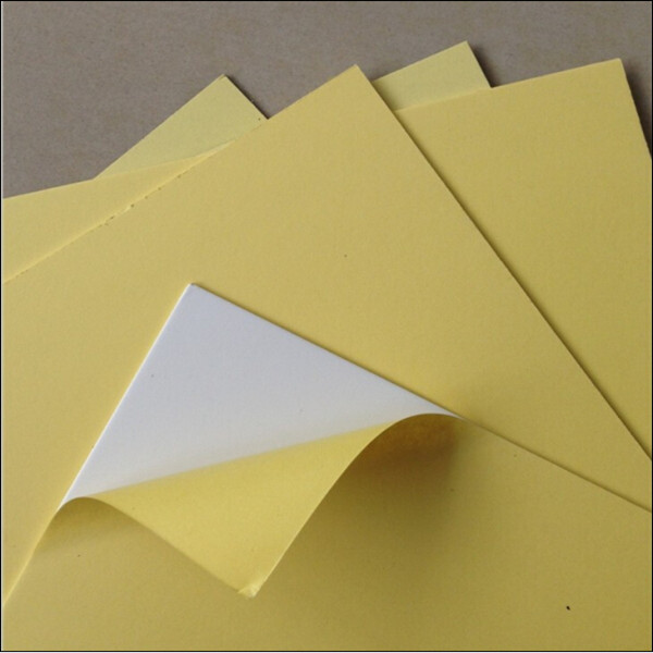 Self-adhesive pvc sheets for photo book/weddig album making.