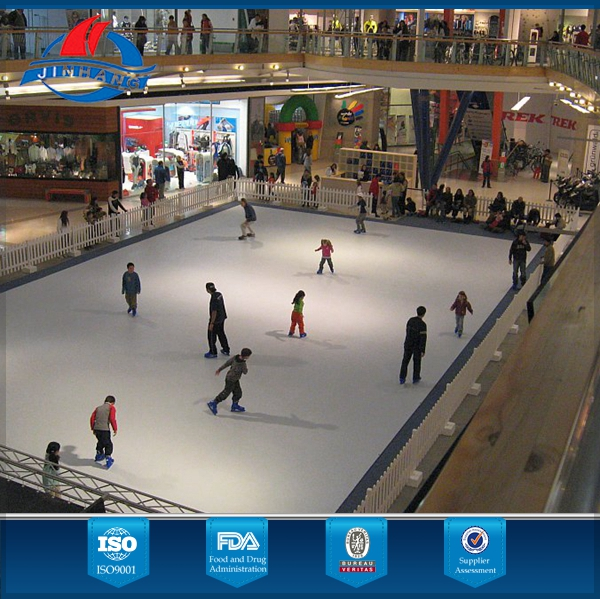 uhmwpe ice skating rinks board/hockey plastic sheet/artificial ice rink