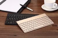 2015 New Arrival Ultra-thin Universal Aluminum Bluetooth Wireless Keyboard With Backlit For Android, IOS ,Windows