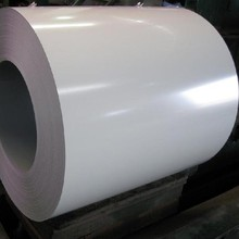 PPGI steel coil/white high gloss prepainted steel coil