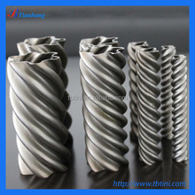 Factory Produce Best Quality ASTM B338 Gr1 OD 12.7mm 19.05mm 22mm 28mm 38mm 45mm Seamless Titanium Corrugated Tubes