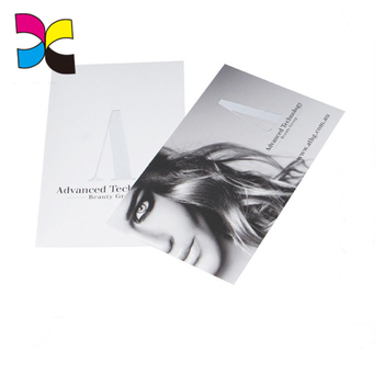 Thick custom paper business card printing,high quality paper business card