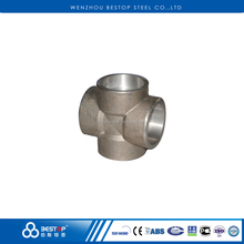1/8''-4'' Stainless Steel 304 316L Forged Socket Weld Cross SW Pipe Fitting ASME B16.11
