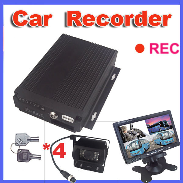 Black box car accident drive reording with recorder camera