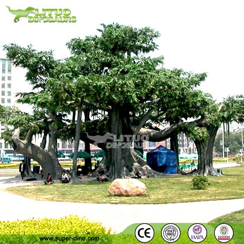 High Quality Decorative Artificial Large Old Banyan Tree for Sale