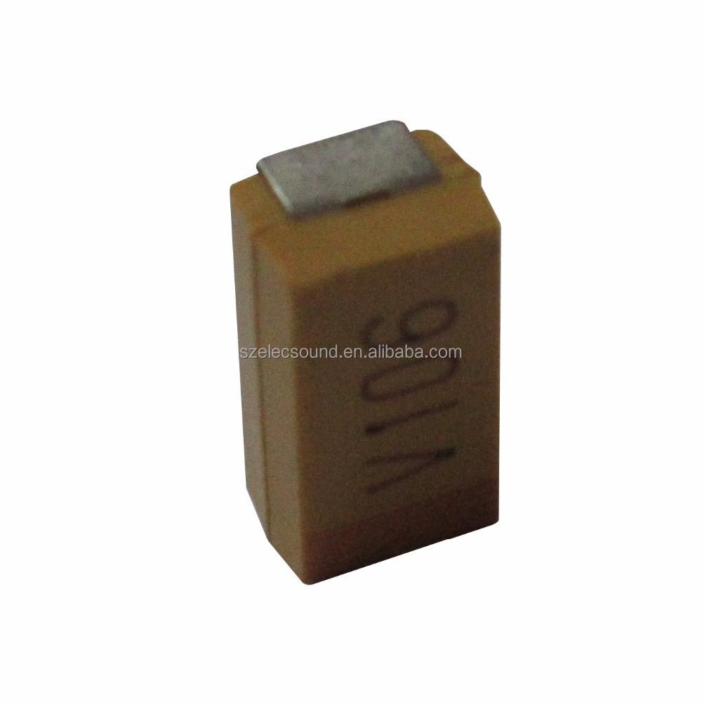 SMD Rohs CA45/CA45L low ESR Chip Tantalum Capacitors with TAPE Reel pack