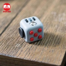 2017 Wholesale Relieves Stress And Anxiety Fidget Cube For Children and Adults