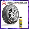 Car Tire sealant and inflator to fill punctured tire aerosol spray