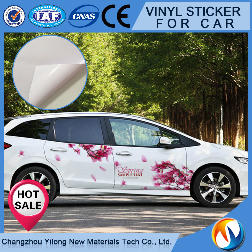 Alibaba China Roll Vinyl Sticker Paper Self-Adhesive Sticker