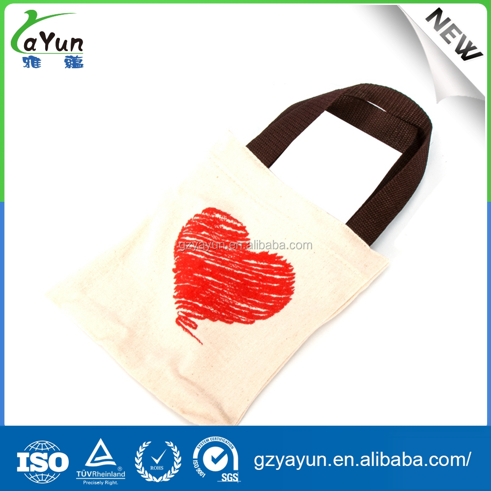 cotton recycle custom retail color life bag