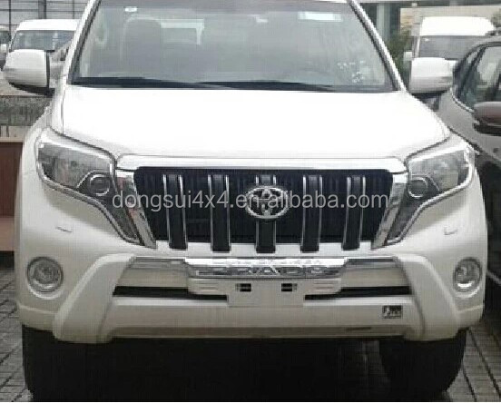 High Quality Body Kit Front Bumper Guard Car For Toyota Prado Accessories (Original Style)