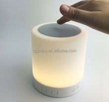 Touch Lamp Wireless Mini Bluetooth Speaker Bluetooth Portable Altavoces Movil Altavoz Portatil for Phone PC 3.5mm Jack Adapter