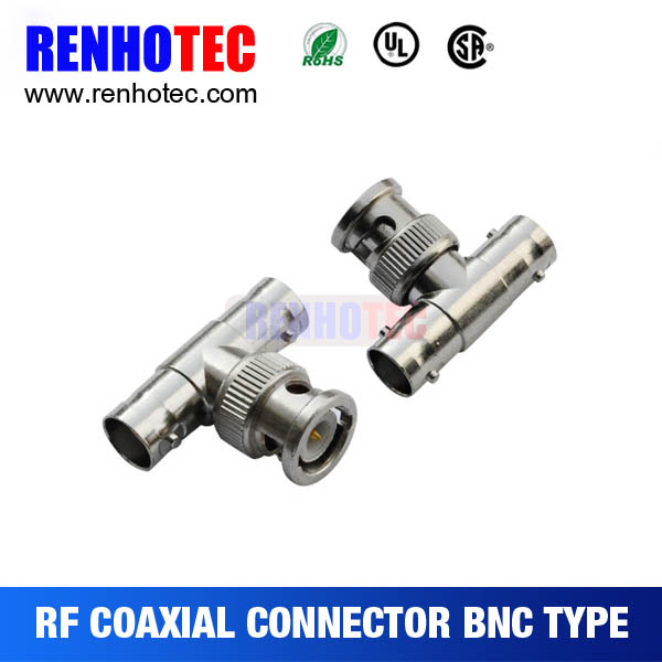 t type bnc adapter male to female bnc connector
