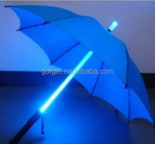 High quality and innovative design led umbrella hand open led umbrella