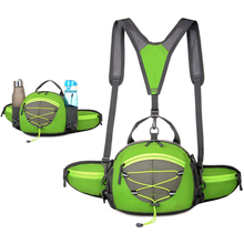 2016 super light weight waterproof sports travelling backpack and waist pack
