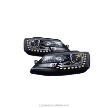 For VW Jetta mk6 Headlights Driving Lamps Left+Right