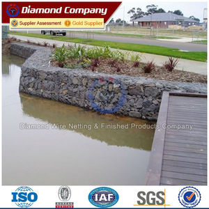 flood gabion box price, plastic rock basket wall design, wire cages rock retaining wall