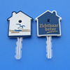 house shape PVC key cap house shape key protect
