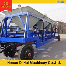 YLB1000 80T/H mobile asphalt batching plant price supplied by professional manufacture