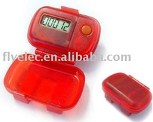 simple pedometer with cover