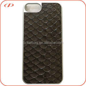 Elegant designer exotic skin for fish leather skin iPhone 7 case