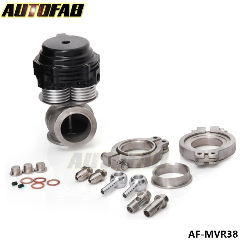 AUTOFAB - SPECIAL! <strong>External</strong> <strong>Wastegate</strong> V-banded 38mm Water-Cooling Capabilty (MVS-A 38mm) AF-MVR38