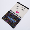 wholesales cheap eco custom promotion cotton cosmetic bag pouch cotton bag with zipper