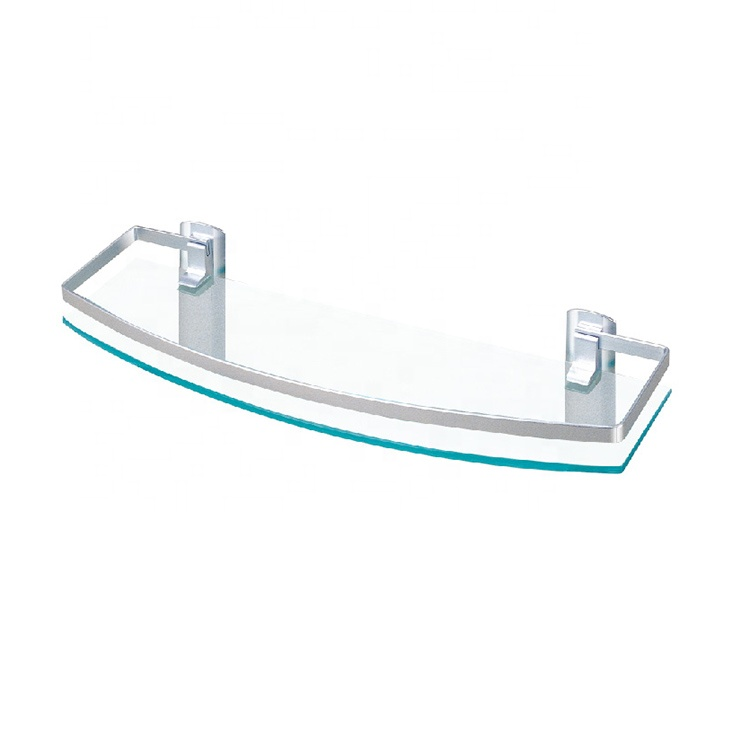 Hot Selling Bathroom Corner Glass Shelf/Bath Holder, View glass ...