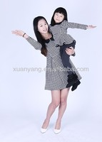 OEM high quality cute lovely family matching clothing &dress designs
