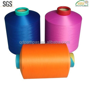 Polyester filament yarn FDY ( FULLY DRAWN YARN, colored )