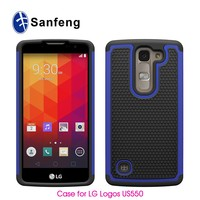 Hot selling combo design phone case cover for LG optimus Logos US550 Escape 2