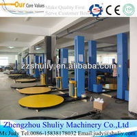 HOT Selling airport baggage stretching film pallet wrapping machine