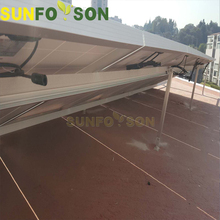China manufacturer cheap flat roof solar pv mounting systems for solar panels