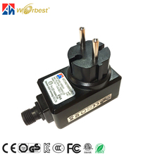CE GS ERP ROHS certificate 12V switch mode power supply us ac/dc adapter