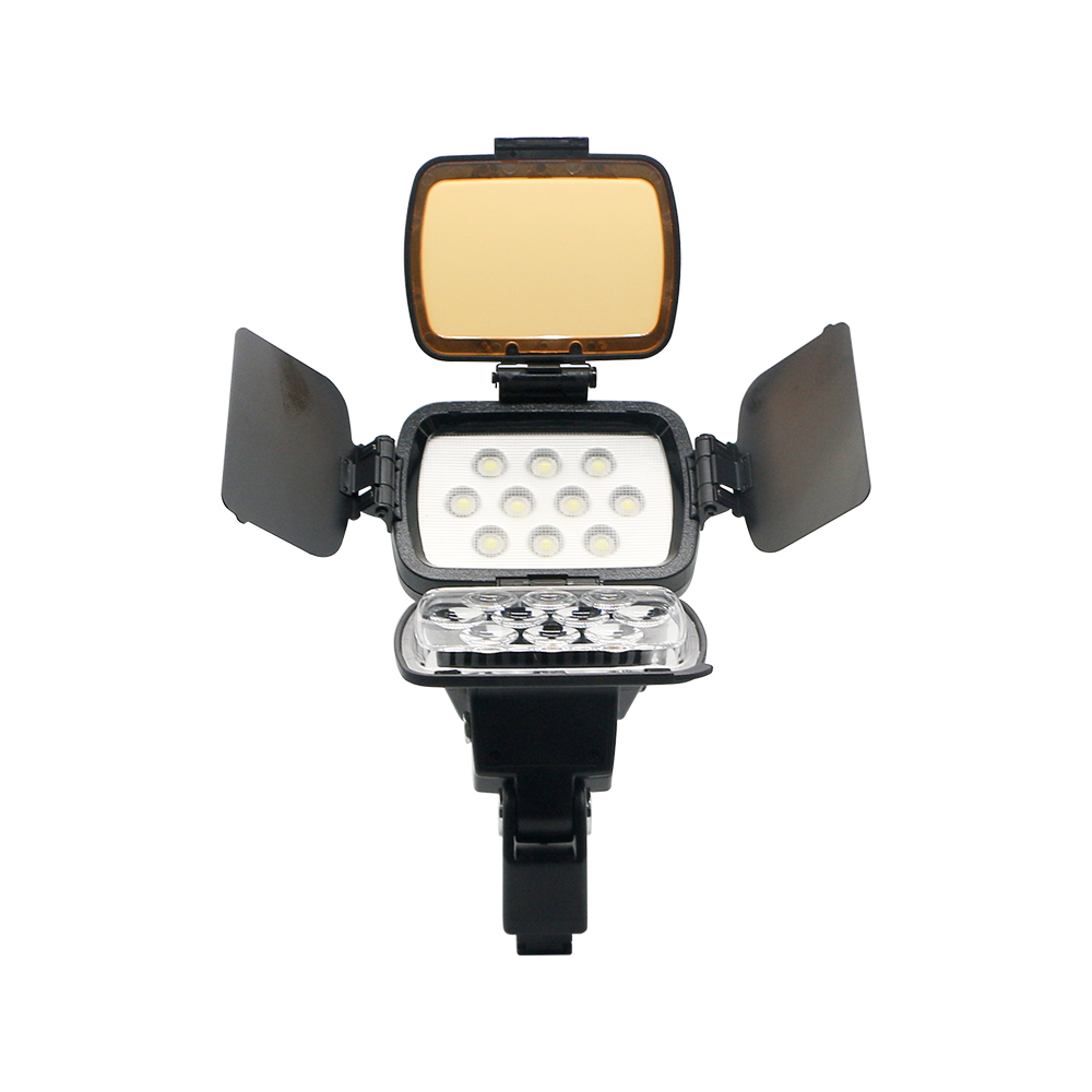 High Powered Lamp for Sony Nikon Canon NP-F970 Camera Camcorder LED-1800 photograph LED video light