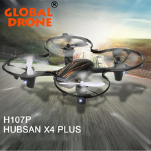 Hubsan H107P X4 Plus 2.4GHz 4 Ch 6-axis Gyro RC Quadcopter Spin w/ LED Light Short Charging Time Mini Drone Dron For Kid Toy