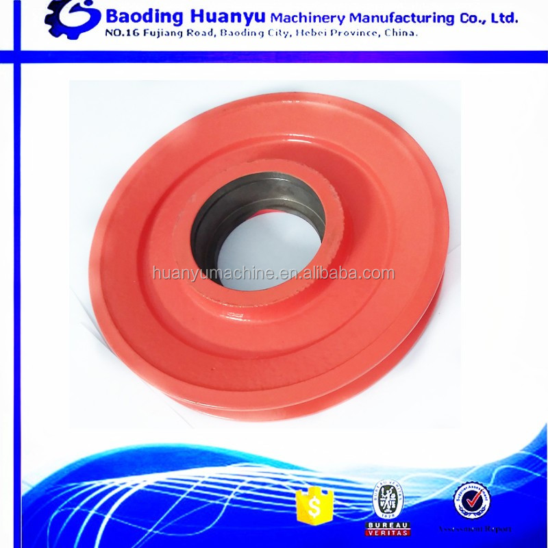 OEM custom made ceramic pulley wheel in China
