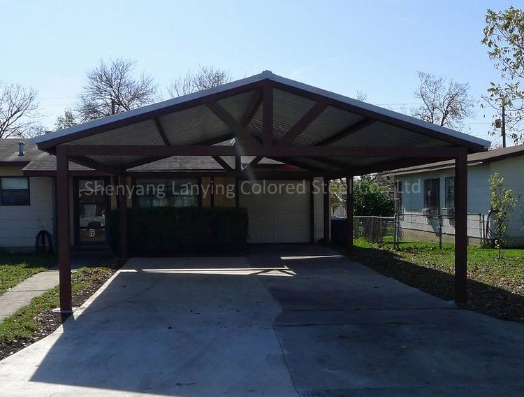 Steel structure car garage cheap steel garage buy steel for Cheap car garages